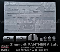 Zimmerit Panther A Late Daimler-Benz Pattern 1/35