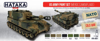 US Army Paint Set (MERDC Camouflage)
