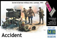 Accident Soviet & German Soldiers Summer 1941 1/35