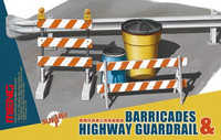 Barricades & Highway Guardrail set 1/35