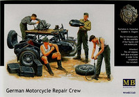 German Motorcycle Repair Kit 1/35