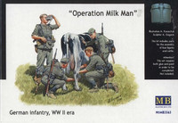 "German Infantry, WW II era ""Operation Milk Man"" 1/35"
