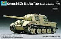 SD.KFZ. 186 JAGDTIGER (PORSCHE PRODUCTION) 1/72