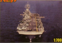 USS Wasp LHD-1 Us Aircraft Carrier 1/700