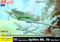 "Supermarine Spitfire Mk.VB ""Red Stars"" 1/72"