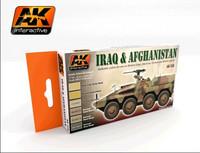 Iraq & Afganistan Paint set (kuusi väriä)