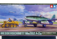 Messerschmitt ME-262 A-2a with Kettenkraftrad 1/48