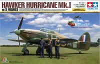Hawker Hurricane Mk.I (mukana suomalaiset tunnukset) 1/48