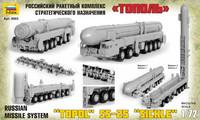 """TOPOL """"M"""" Missile Launcher 1/72"""