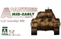Panther Ausf.A Middle/Early Production (Full Interior) 1/35