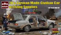 German made Civilian Car (MB) with Living Supplies 1/35