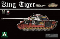 King Tiger Porsche with Zimmerit and Interior 1/35