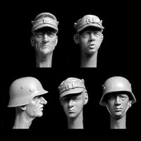 The Last Ditch 5 Heads Volksturm 1945 1/35
