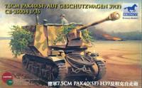 7.5cm Pak40(SF) Auf Geschutzwagen 39(F) 1/35