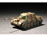 MILITARY VEHICLE GERMNAN SD KFZ 186 JAGDTIGER W. ZIMMERIT 1/72