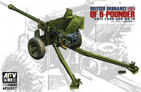 British Mk.4 6pdr Anti-Tank Gun 1/35