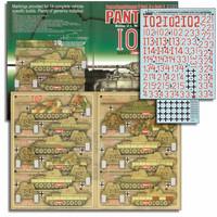 1.PzAbt / Pz.Rgt.4 Panther D,A 1/35