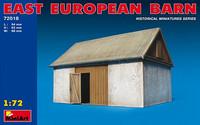 East European Barn 1/72