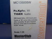 Tracks for Pz.Kpfw.VI Tiger Late 1/35