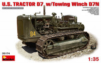 U.S. Tractor D7 with Towing Winch D7N 1/35