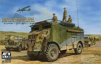 Rommel`s Mammoth DAK - AEC Armored Command Car 1/35