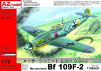 "Messerschmitt Bf 109 F-2 ""Aces"" (New mould) 1/72"