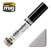 Medium Grey Oilbrush