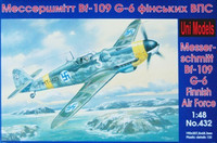 Messershmitt Bf-109 G-6 Finnish Air Force 1/48