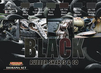 Black rubber shades & Co