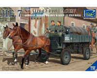 German Horse Drawn Wagon 1/35
