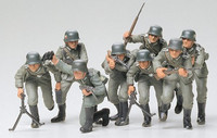 German assault troops 1/35