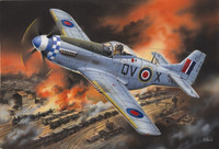 Mustang MK.IVA, WWII RAF FIGHTER 1/48