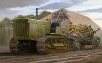 Soviet ChTZ S-65 Tractor 1/35