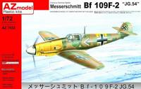 Messerschmitt Bf 109F-2 JG 54 1/72