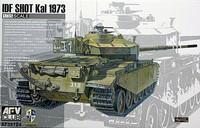 Israeli Centurion IDF shot Kal 1973 1/35