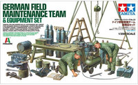 German Field Maintenance Team 1/35