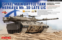 Israeli Merkava Mk.3D Late LIC MBT 1/35