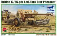 British 17/25 pdr Anti-Tank Gun 'PHEASANT' 1/35