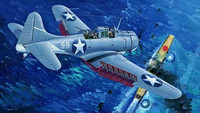"U.S. NAVY SBD-3 ""DAUNTLESS"" MIDWAY 1/32"