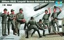 LEOPOLD RAILROAD GUN 280MM K5 - GUN CREW 1/35