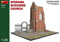 Diorama w/Ruined Church 1/35