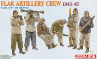 Flak Artillery Crew 1943-1945 1/35