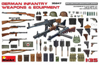 German Infantry Weapons & Equipment 1/35