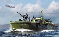 US Navy Elco 80' PT Boat Late 1/48