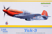 "Jak-3 Soviet Fighter ""Weekend Edition"" 1/48"