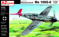 Messerschmitt Bf-109G-0 V-tail 'Aces' 1/72