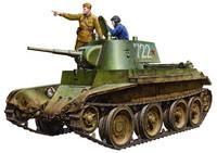 BT-7 Model 1937 Soviet Tank 1/35