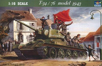 T-34/76 Model 1943 1/16