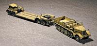 SD.KFZ.9 (18T) HALF-TRACK & SD.AH.116 TRAILER 1/72