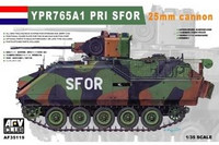 YPR 765 A1 with 25mm gun SFOR 1/35